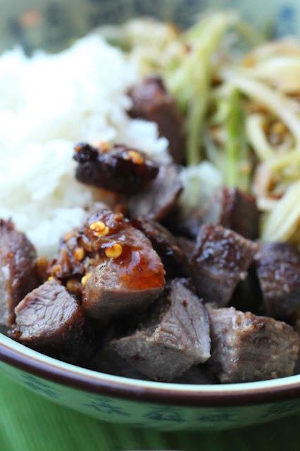 recette joues de porc thailande
