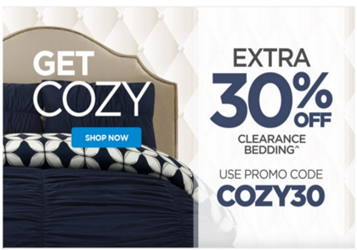 The Shopping Channel Flash Sale Extra 30% Off Clearance Bedding Promo Code