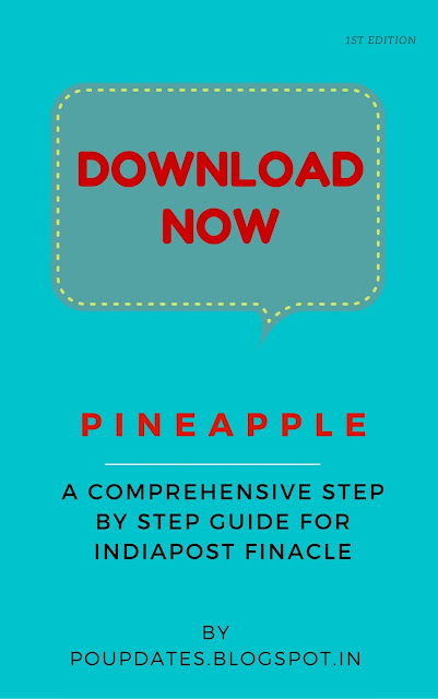 Pineapple - A Comprehensive step by step guide for India post finacle by poupdates.