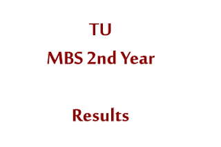 MBS 2nd Year Results Tribhuvan University