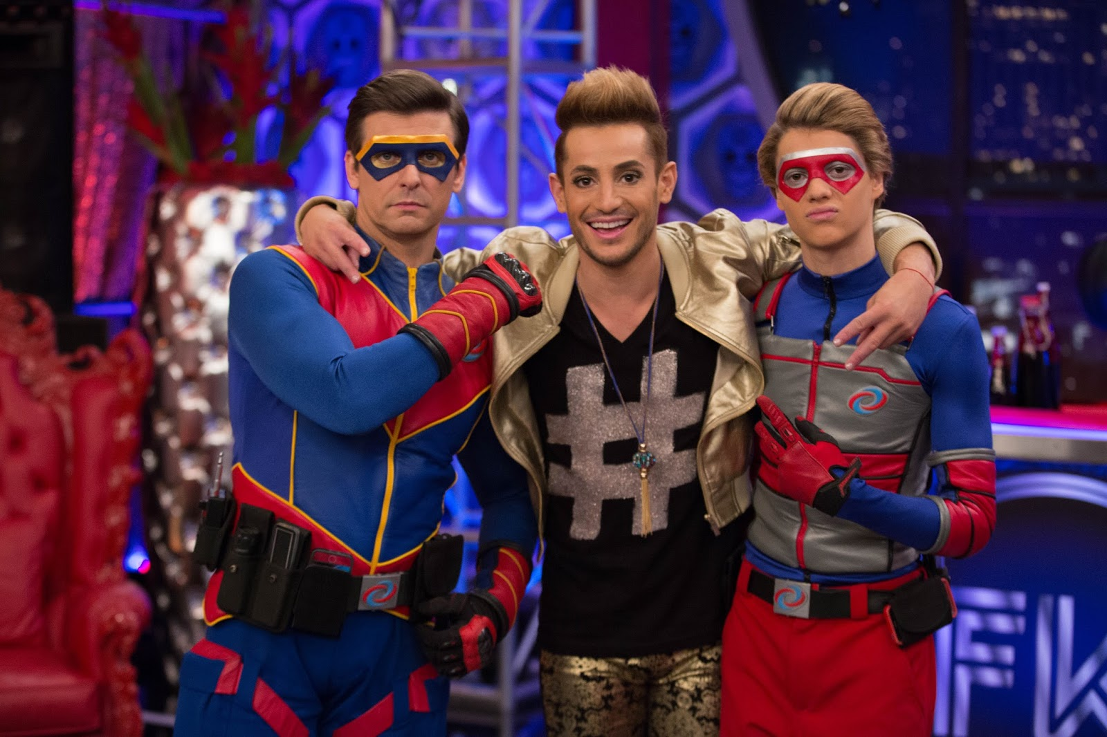 Nickalive Frankie Grande Dishes On His Henry Danger Guest Role