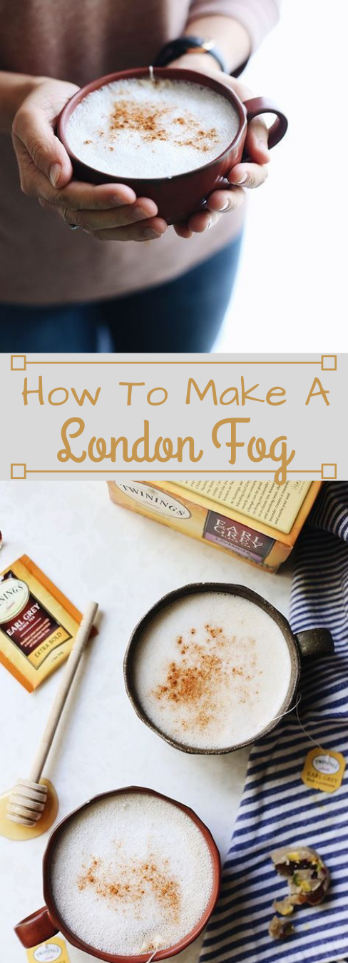 HOW TO MAKE A LONDON FOG DRINK #healthydrink #easy #fres #recipes #sangria