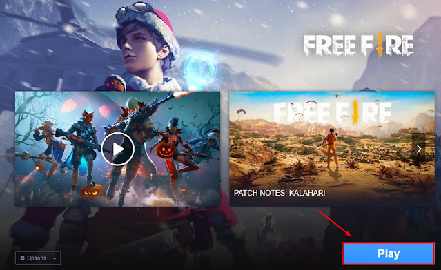 play free fire gameloop