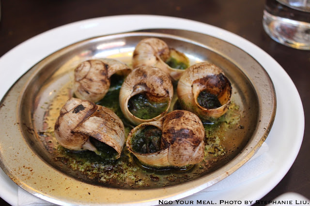 Escargot at Le Comptoir du Relais