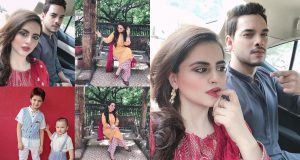 Latest Pictures of Fatima and Kanwar with their Kids