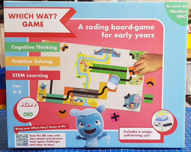 OKIDO Which Way Game Review - Coding for age 4-8  photo of box