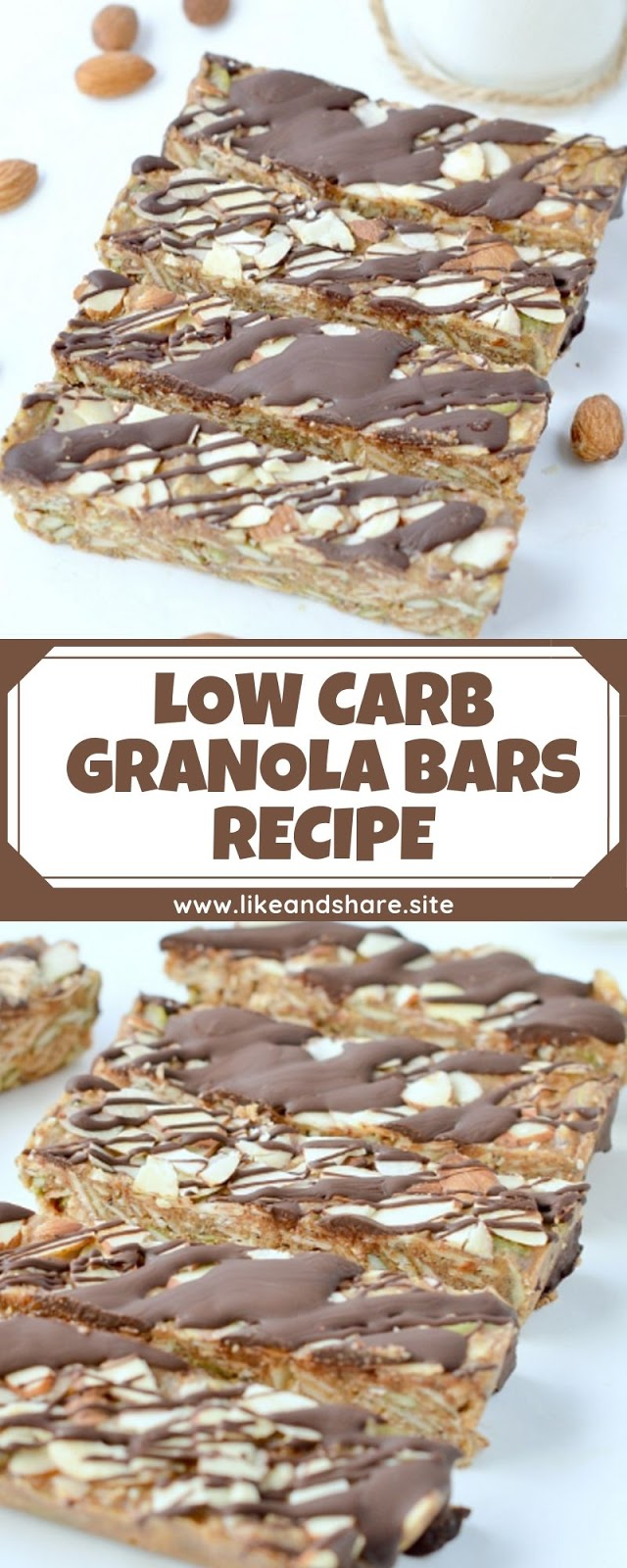 LOW CARB GRANOLA BARS RECIPE