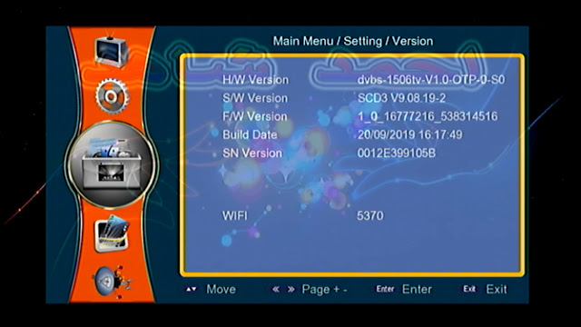 HD RECEIVER 1506TV NEW SOFTWARE UPDATE WITH GODA SERVER