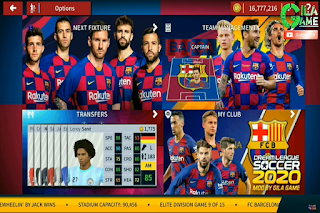 Download DLS 2020 MOD BARCELONA APK DATA  OBB for Android