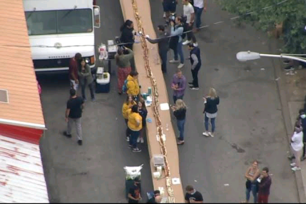 Philadelphia chefs assemble 510-foot cheesesteak|interesting news|