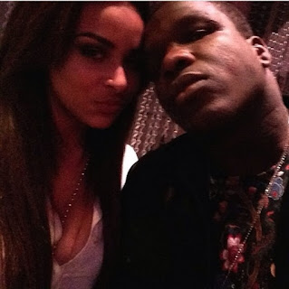 Frank Gore With His Gf Yasmin