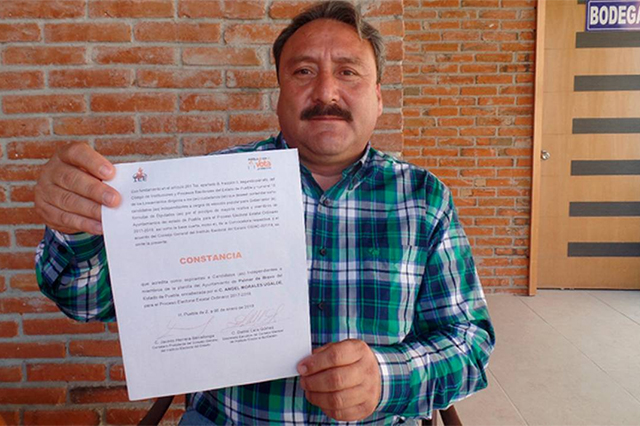 Sin rastro del candidato independiente en Palmar de Bravo