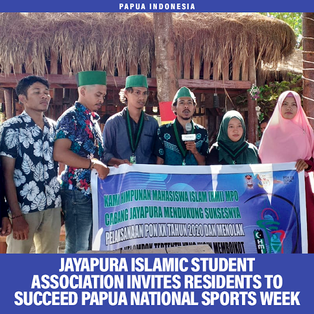 jayapura-mpo-hmi-invites-residents-to-succeed-papuan-pon