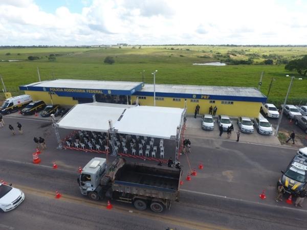 PRF inaugura nova delegacia e unidade operacional em Macaíba