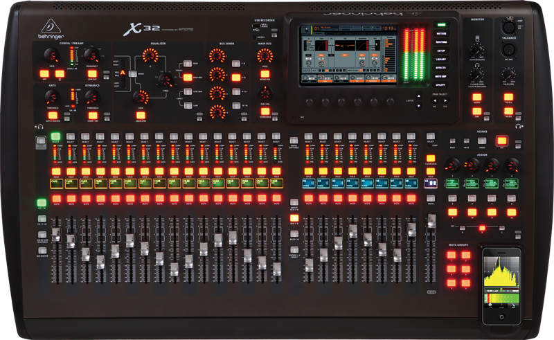kurnia musik semarang behringer x32 digital mixer. Black Bedroom Furniture Sets. Home Design Ideas