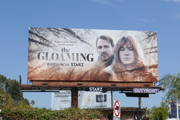 Gloaming Starz series billboard