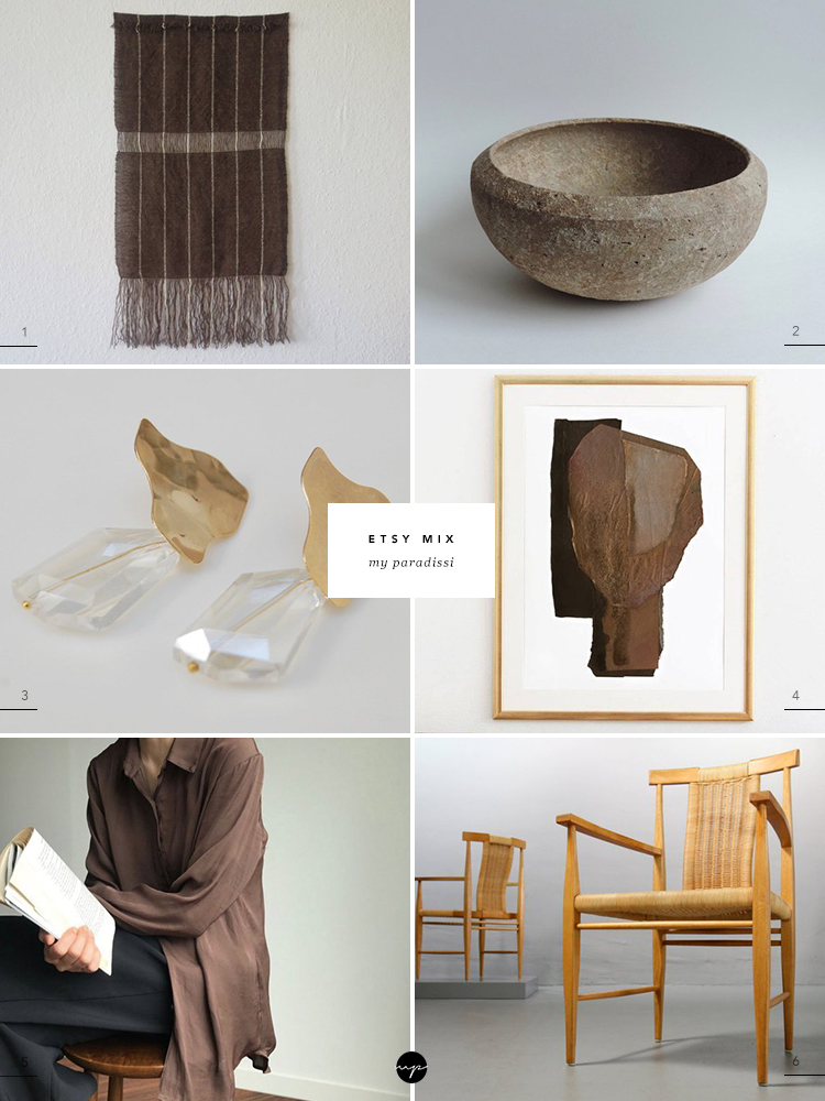 Best Etsy finds curated by Eleni Psyllaki for My Paradissi