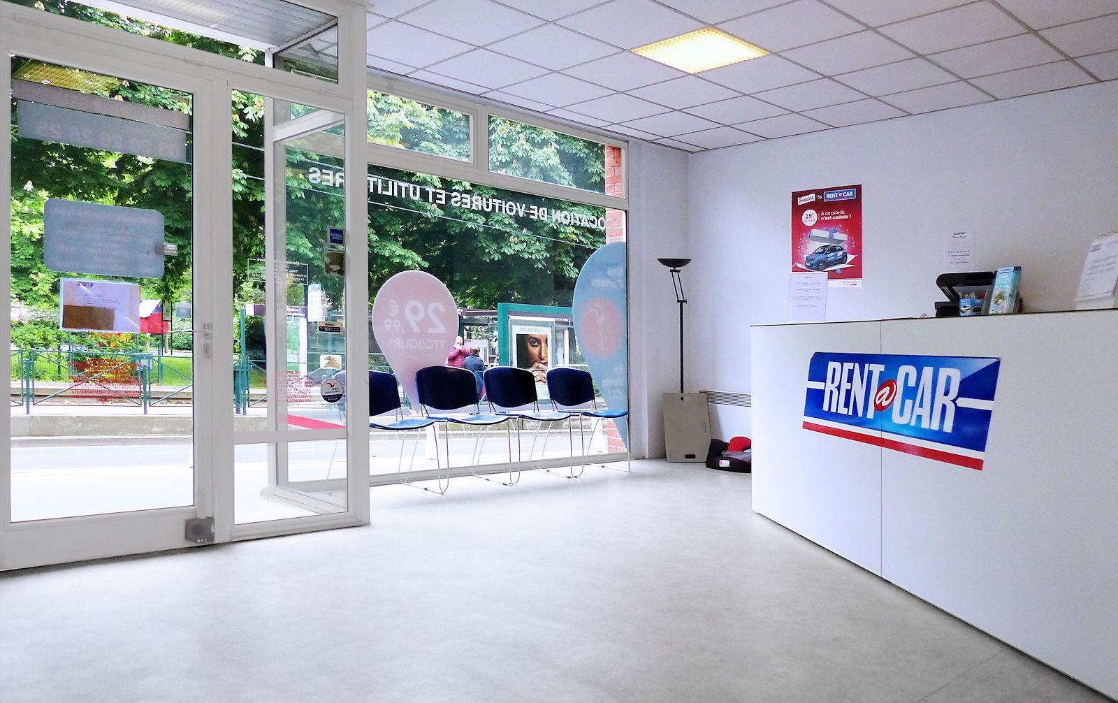 Rent a Car Tourcoing - Accueil clientèle.