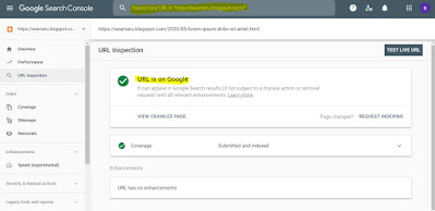 indeks suskses google search console