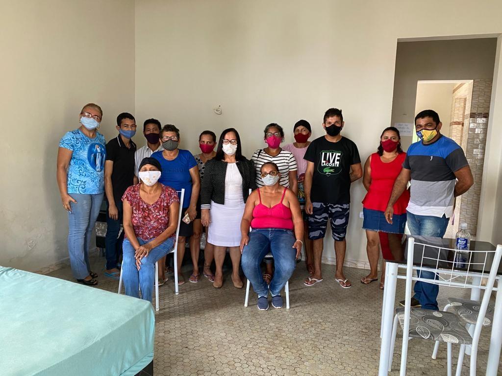 CHAPADINHA | Prefeita Belezinha Visita 'Casa de Apoio à Saúde' do Município, em São Luís