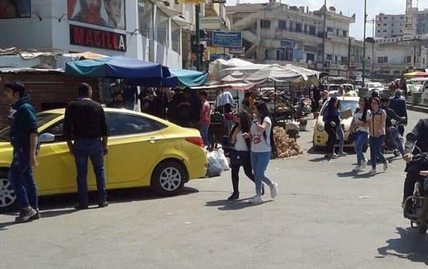 السويداء فوضى الأكشاك حولت ساحة المحافظة إلى بازارات والحاجة ملحة لإحداث سوق الهال
