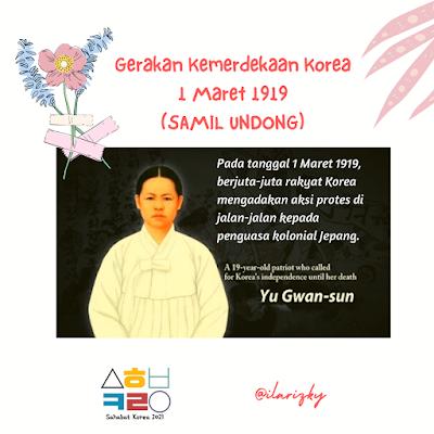Pahlawan korea- gerakan 1 maret