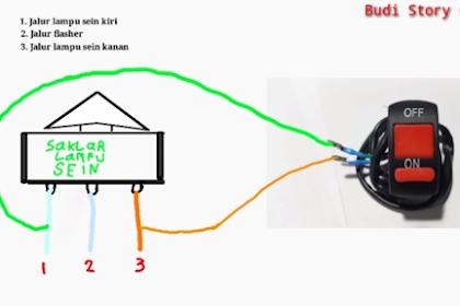 Cara Membuat Lampu Hazard Di Semua Motor (Lampu Bahaya)