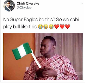 vcxf - Reactions to the Super Eagles victory against Cameroon [Funny Photos]