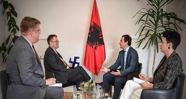 #Kosovo #Metohija #Srbija #Priština #Ambasador #Zoran #Vlašković #Fašizam #Kabinet #Zastava #Albanija #Kurti #Murti