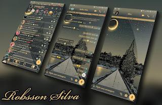 Empty Night Theme For YOWhatsApp & KM WhatsApp By Robsson