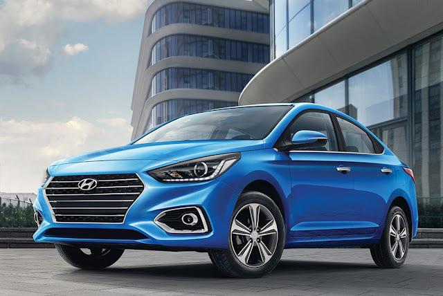 New Hyundai Verna 2017 blue image