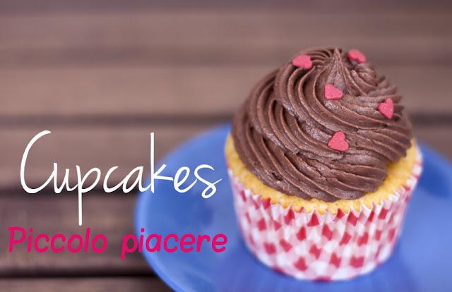 [I love food] Il Cupcake vaniglia e cioccolato