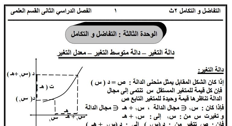 ملزمة تفاضل وتكامل للصف الثانى الثانوى علمى 2018 ترم تانى  EGY%2BFAST%2B004