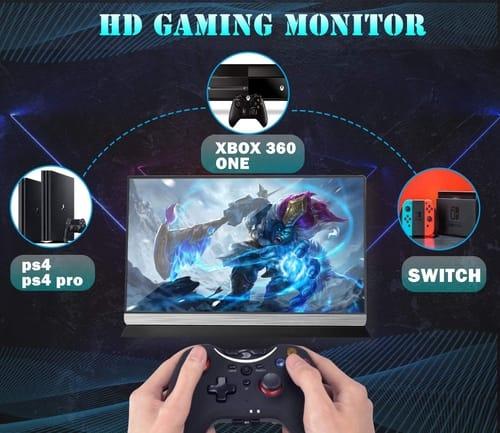 LTAIN 1080P 15.6 USB Portable Monitor