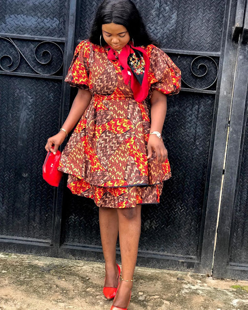 Fascinating Lace and Ankara Asoebi Styles