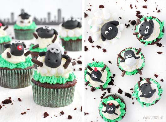 Shaun-das-Schaf-Cupcakes