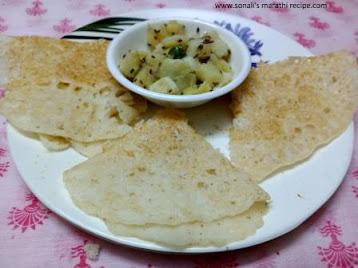 upvasachi zatpat aamboli, aamboli of fasting