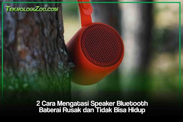 cara agar speaker bluetooth tidak lagi menggunakan baterai