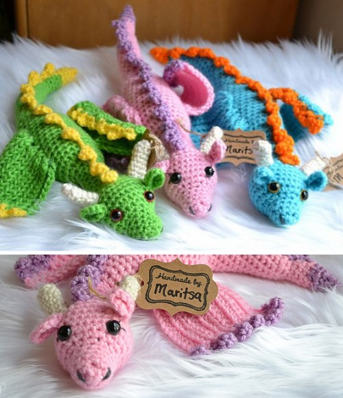 Spring Dragons - Crochet Pattern