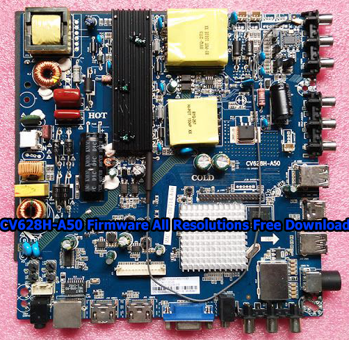 CV628H-A50 Firmware All Resolutions Free Download