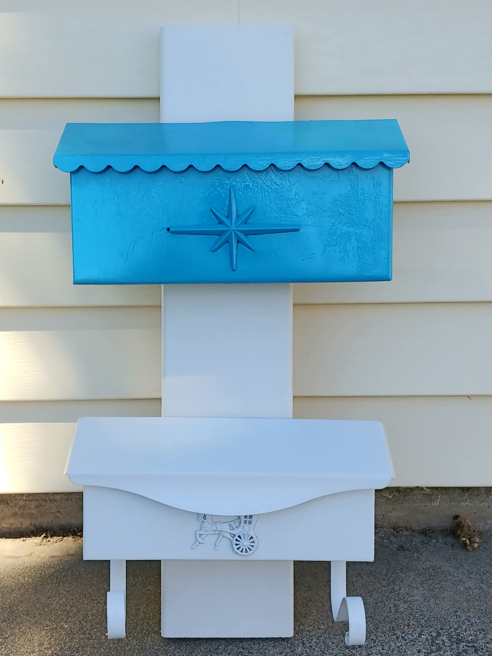 upcycled mailbox storage