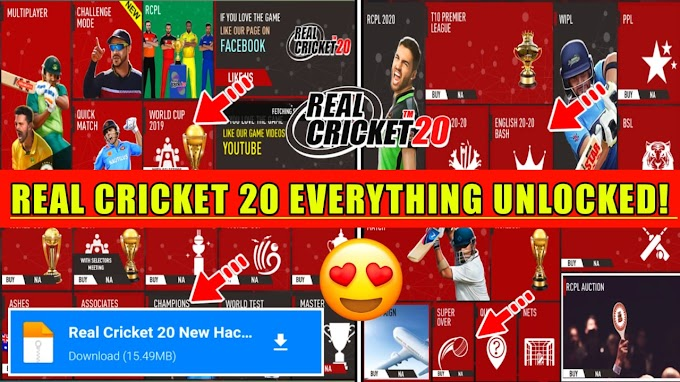 Real Cricket 21 Everything Unlocked