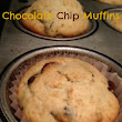 Savory & Sweet-Hearts: Recipe to Reality: Chocolate Chip Muffins for Sandy