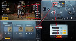 Cara Copy Control PUBG Mobile ke Akun Lain