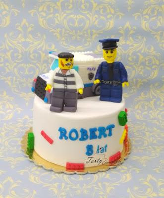 tort policja lego