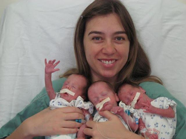 História - Danilela Finotti é mãe de trigêmeos e mãe de gêmeos