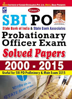 SBI Probationary Officer Solved Papers 2000 - 2015
