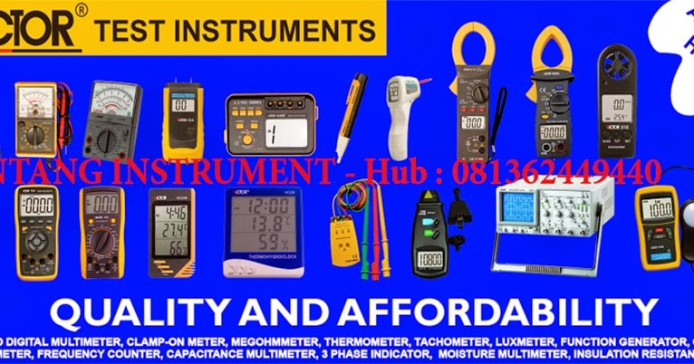 bintang instrument   081362449440 jual victor instrument indonesia analog multimeter  wood