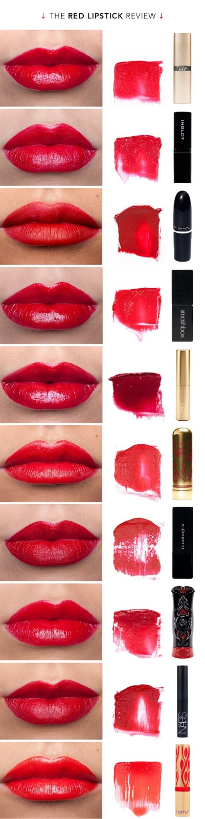 The best red lipsticks to have in your collection, from classic shades to newer additions