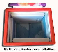 box styrofoam untuk usaha es krim bergambar sedang